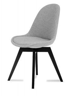 Donna Bess (sedák šedá / konstrukce černá) | Jena nábytek