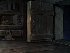 Animation Backgrounds: SNOW WHITE