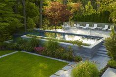 Garten Gestaltung : Moderne Pools von Paul Marie Creation