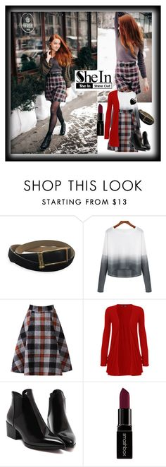 """""""shein grey white knitwwear"""" by bamra ❤ liked on Polyvore featuring Jason Wu, WearAll, Smashbox, Lord & Taylor, women's clothing, women's fashion, women, female, woman and misses"""