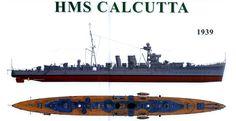 HMS Calcutta C Class Light Cruiser
