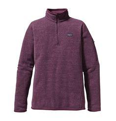 Patagonia Women's Better Sweater 1/4-Zip - F12