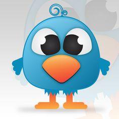 Create a Cute Twitter Bird