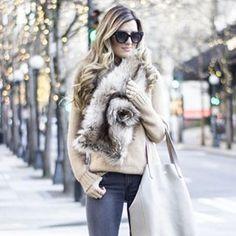 6 Stylish Ways To Wear A Fur Scarf httpbitly1PyK1zG aw15hellip