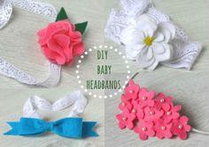 Headband para bebê com feltro pode também ser fonte de renda extra (Foto: homelifeabroad.com)