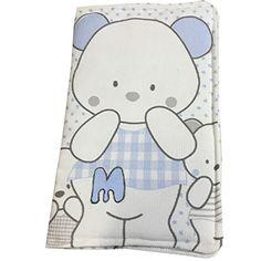 funda portadocumentos bebe bear azul