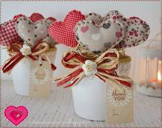 Valentine Decorations, Valentine Crafts, Handmade Decorations, Holiday Crafts, Fun Crafts, Diy And Crafts, Arts And Crafts, Valentines, Shabby Chic Quilts