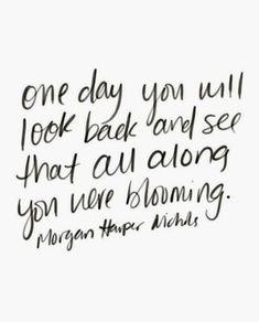 keep blooming //