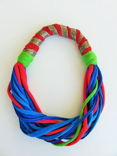 unique necklaces for her colorful bib necklace by JIAKUMA on Etsy