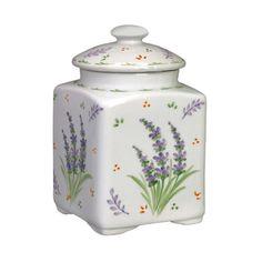 Lavender Canister Jar