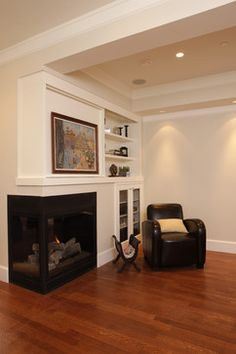 JDL Homes Vancouver - corner fireplace