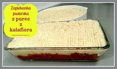 Zorganizowany Dom: Zapiekana wiejska/pasterska z puree z kalafiora