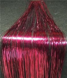 fuschia shine Hair Tinsel, Silk Hair, Pink Silk, New Look, Stylists, Hair Styles, Ebay, Hair Decorations, Hair Plait Styles