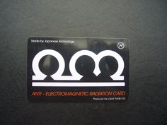 The card is designed to neutralize harmful electromagnetic radiation from office equipment (SAR). The card is made of bioceramics in combination with noble metal. In this combination card releases negatively charged ions and thus neutralize the positively charged electromagnetic radiation emitted by office equipment. It is placed in the pocket and must always be near you.