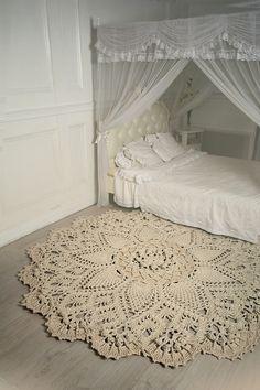 Способ соединения концов шнура между собой при вязании рельефных ковров