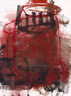 Abstract Gestural Painting by Marie Bortolotto