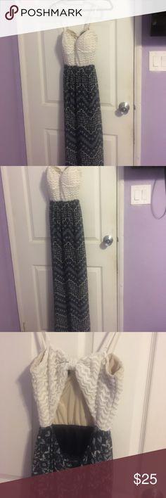 Long backless dress Long backless dress. Good condition. Adjustable straps. Dresses Backless