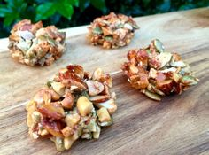 These Seed Nut Clusters are a great option for a healthy snack. They taste great.,Healthy, Many of these healthy H E A L T H Y . These Seed Nut Clusters are a great option for a healthy snack. They taste great, they are full of good fats and. Healthy Mummy Recipes, Healthy Snacks For Kids, Keto Snacks, Keto Recipes, Snack Recipes, Cooking Recipes, Thermomix Recipes Healthy, Healthy Breakfasts, Healthy Cookies