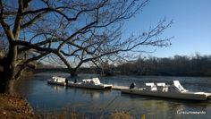TURISCURIOSA EN USA: DÍA 10. PRINCETON Y FILADELFIA, LA CIUDAD QUE ME CONQUISTÓ. Lago en Princeton.