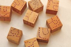 cute and easy to make wooden jigsaw puzzle.