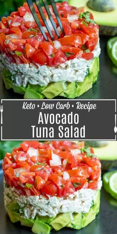 Avocado Recipes, Salad Recipes, Keto Recipes, Easy Recipes, Healthy Recipes, Healthy Drinks, Dinner Recipes, Healthy Food, Healthy Rice