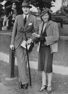 Lord and Lady Charles Cavendish (née Adele Astaire), Phoenix Park, 1939 Adele Astaire, British Nobility, Classic Films, Film Stills, Lord, Photo And Video, Chic, Gallery, Phoenix