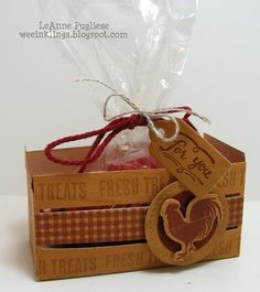 LeAnne Pugliese WeeInklings Wood Words Wood Crate Stampin Up