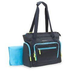 Eddie Bauer Sport Tote Diaper Bag – Navy