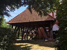 Der Glockenstuhl der Kirche St. Marien Gazebo, Outdoor Structures, Island, Kiosk, Pavilion, Cabana