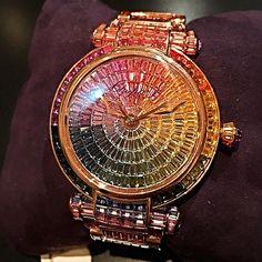 CHOPARD IMPERIAL TOURBILLON RAINBOW WATCH @chopard #chopard #chopardwatch #chopard_watch #chopardwatches #chopardimperiale #rainbowwatch #rainbow_watch #rainbowwatching #amazing #jewel #jewelry #jewellery #beautiful #glimmering #diamond #diamonds #gleaming #luxury #luxurious #watch #watches #royal #imperial #tourbillon #tourbillon_watches #bright by loloko_ksa