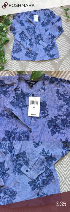 NWT Lucky Brand Top Brand new floral top from Lucky Brand Lucky Brand Tops Blouses