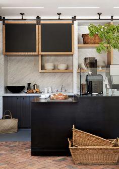 Kitchen at the Cairdean Estate culinary village. Design by NicoleHollis. Photo: Laure Joliet.
