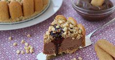 Torta di pavesini e nutella è dessert al cucchiaio davvero goloso, pochi e semplici passaggi per realizzare un dolce davvero...
