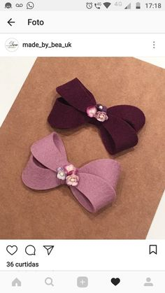 ALICE IN WONDERLAND Leather Look Hair Bows Synthetic Clip Disney Pattern