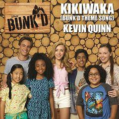 "Kikiwaka (Bunk'd Theme Song) (From ""Bunk'd"") Walt Disney Records Old Disney Shows, Kevin Quinn, Karan Brar, Camping San Sebastian, Old Disney Channel, Camping 3, Walt Disney Records, Bridgit Mendler, Cameron Boyce"