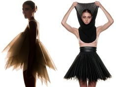Neo Dia. The upcoming designer duo of Becky Chua and Gavin Lowes create architecturally complex, ready-to-wear pieces