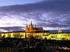 #Praga, il castello di notte - una pic di DomeSte