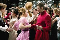 Goblet of Fire Yule Ball Viktor Crumm and Hermione Granger