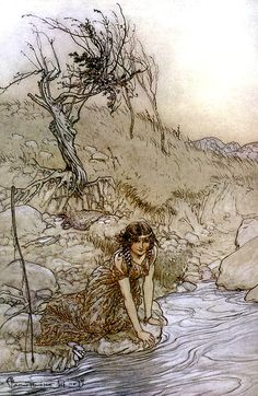 Arthur Rackham illust A Midsummer-Night's Dream by William Shakespeare, 1908