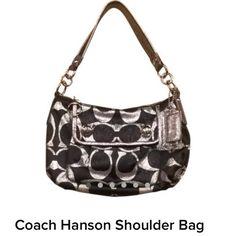 Coach Hanson Bag Coach Hanson Shoulder Bag Coach Bags Shoulder Bags