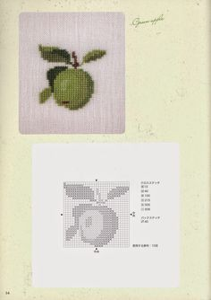pointgram: Cross Stitch By Gerda Bengtsson