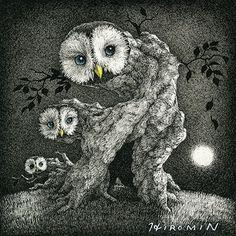 """""""owl""""   hiromi nishizaka"""
