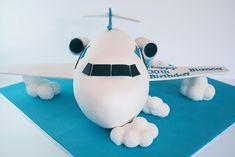 """3D airplane cake"", via Flickr."