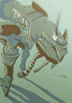 Day 8: Shadow Of The Colossus - Phaedra by ~lookhappy on deviantART