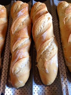 Baguettes au thermomix Plus - lospinta Thermomix Bread, Thermomix Desserts, No Salt Recipes, Baking Recipes, Cooking Chef Gourmet, Cooking Spaghetti, Bread Baking, Cooking Time, Cooking Fails
