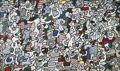 Jean Dubuffet Paintings & Artwork Gallery in Chronological Order
