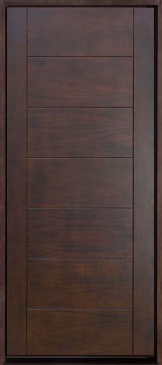 Ideas door design modern front single for 2019 Modern Wood Doors, Wood Entry Doors, Wooden Doors, Sliding Doors, Modern Entry Door, Oak Doors, Patio Doors, Custom Interior Doors, Door Design Interior