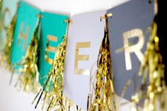 Cheers Banner by michiemay on Etsy, $38.00
