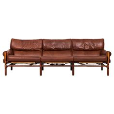 Arne Norell Three-Seat Sofa Model Kontiki by Arne Norell AB in Sweden
