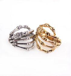 #patriciafield.com        #ring                     #Skeleton #Grabbing #Hand #Ring                     Skeleton Grabbing Hand Ring                                                   http://www.seapai.com/product.aspx?PID=831764